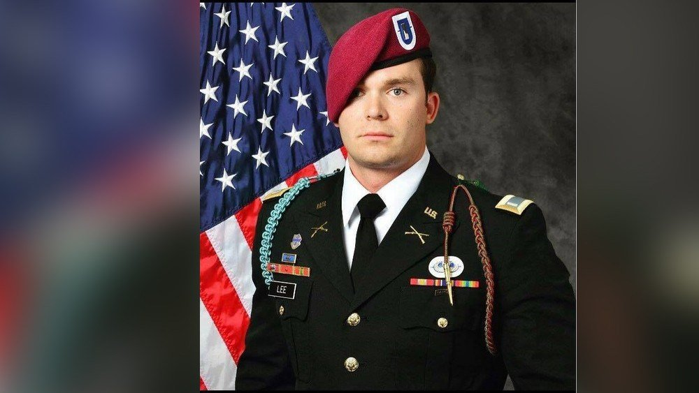 First lieutenant with the 82nd Airborne Division, 25-year-old Weston C. Lee of Bluffton, Georgia, died Saturday.