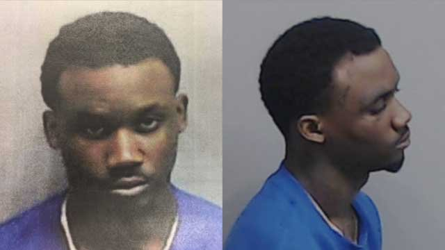 "Demetrius ""Meeko"" Gordon was arrested and charged with aggravated assault with a deadly weapon, possession of a firearm by a convicted felon, and possession of a firearm during the commission of a felony.  Source: Fulton County Police"