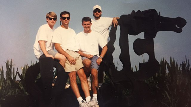 Adam Murphy on the Iron Horse in the 90s.