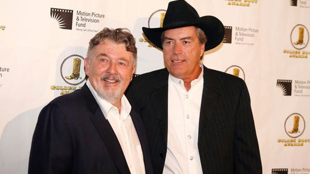 Powers Boothe, right (Source: CBS/AP)