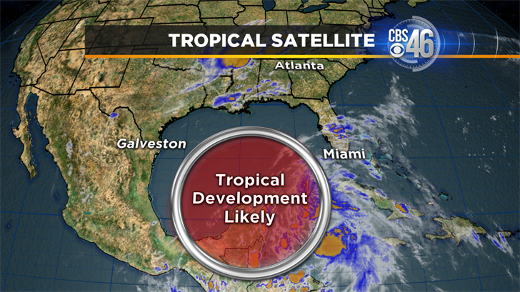 Be Prepared: Tropical system could develop in the Gulf of Mexico