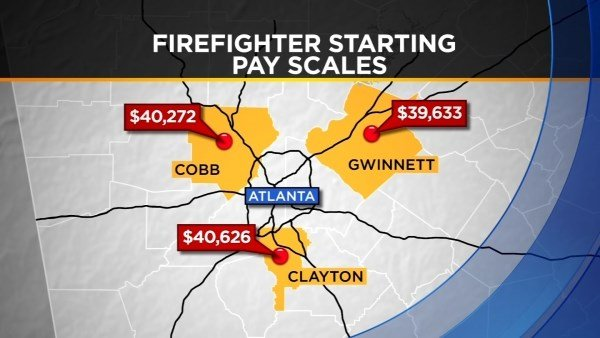 Atlanta firefighters, city workers to receive raises