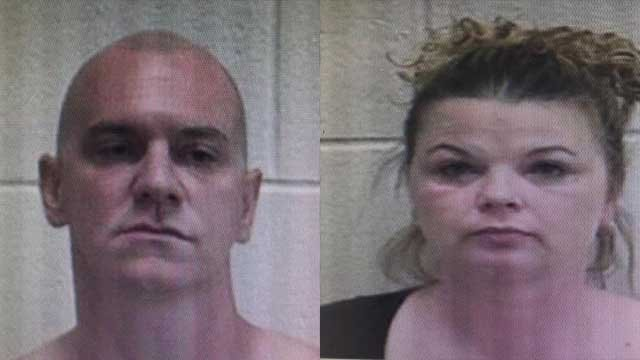 Michael Edward Parker and Bridgette Banks | Source: Union County Sheriff's Office