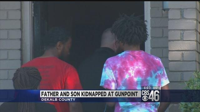 Father, son kidnapped and robbed fatally shoot suspect