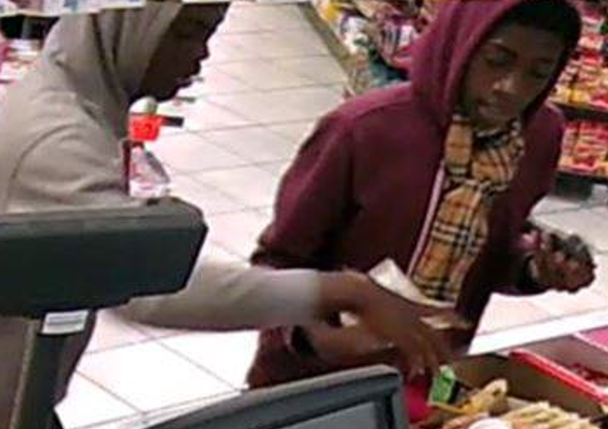 Please call Crimestoppers at 404-557-TIPS if you recognize either of the two suspects.