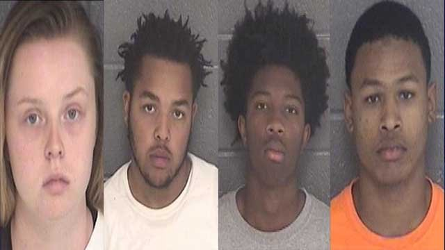 Hannah Wallace | Damon Griffin | Deontavious Williams | Mansfield Yancey | Source: Winder Police Department