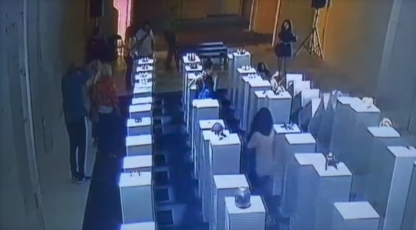 Woman destroys RM857,900 of art in selfie mishap
