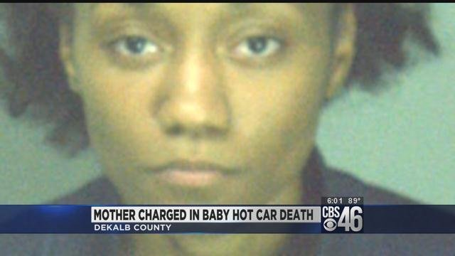 Mother charged in baby hot car death