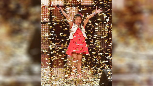 9-year-old Angelica Hale Gets Golden Buzzer On America's Got Talent