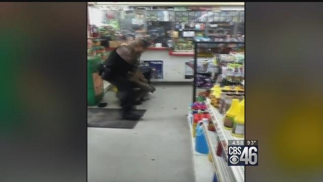 Police union says video of officer beating woman doesn't tell whole story