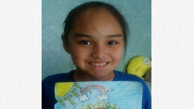 surviving victim, Diana Romero, age 9