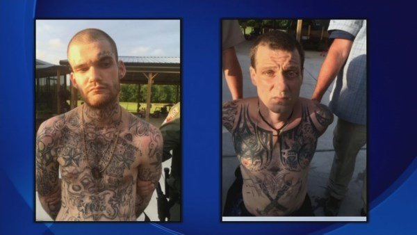 Ricky DuBose and Donnie Rowe (Source: GA Department of Corrections)