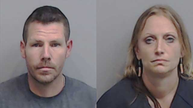 Jeffory Griffin and Nicole Dribnak have both been arrested for similar break-ins.