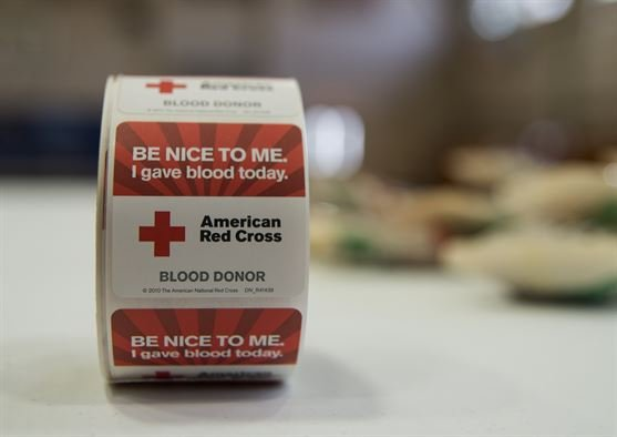 The American Red Cross supplies about 40 percent of the nation's blood.