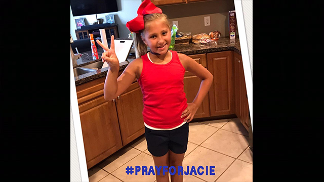 Source: Pray for Jacie Facebook