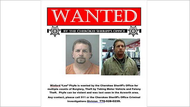 Source: Cherokee County Sheriff's Office