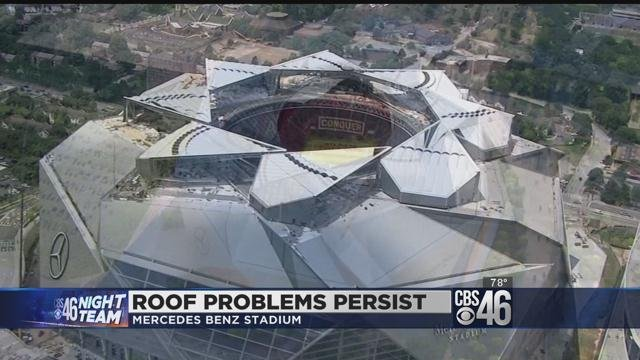 Roof of mercedes benz stadium will be closed to start for Will call mercedes benz stadium