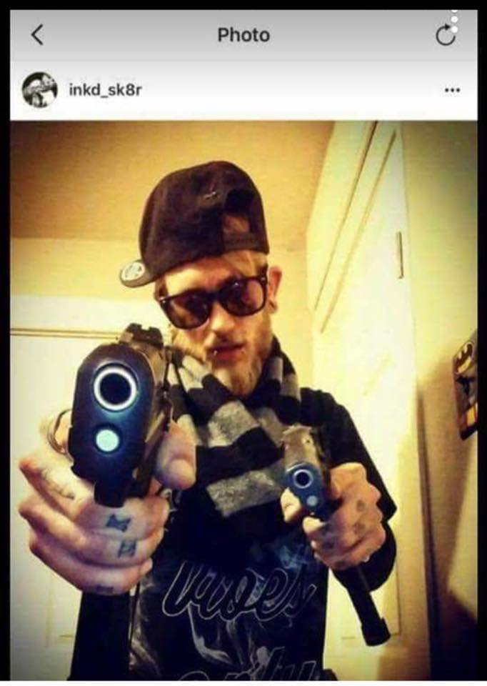 Jason Brown, a tattoo artist at a south side parlor, is now facing a preliminary murder charge. He has a criminal history, including a number of infractions and a charge for possession of drugs, for which he served 30 days in a county jail. (Instagram)