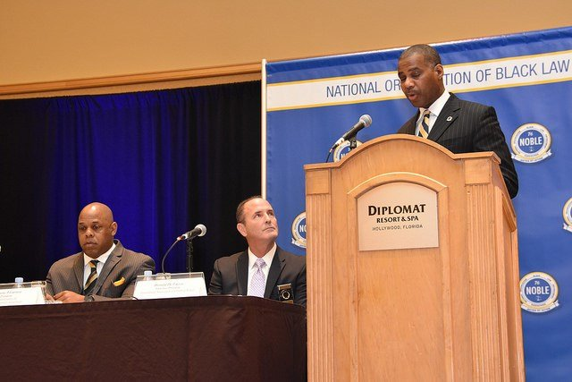 NOBLE represents more than 3,000—primarily African American—members internationally. They're comprised of CEOs of law enforcement agencies at the federal, state and county levels.