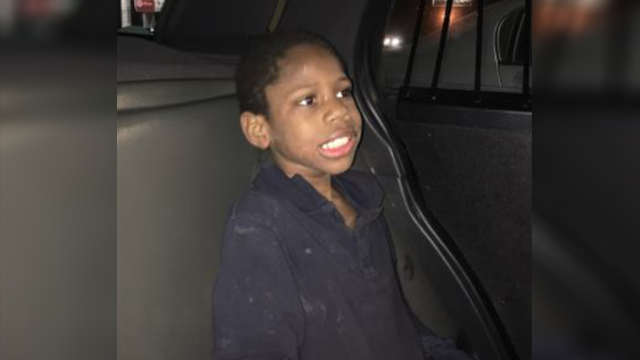 Caregiver located after child found wandering alone in gas station