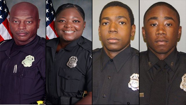 Mason, Anderson, Mathews and Gibson (Source: Atlanta Police Department)