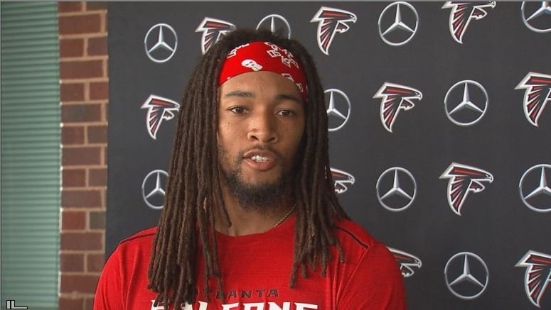 Jalen Collins addresses his 10-game suspension for violation of the NFL's P.E.D. policy. (Source: WGCL)