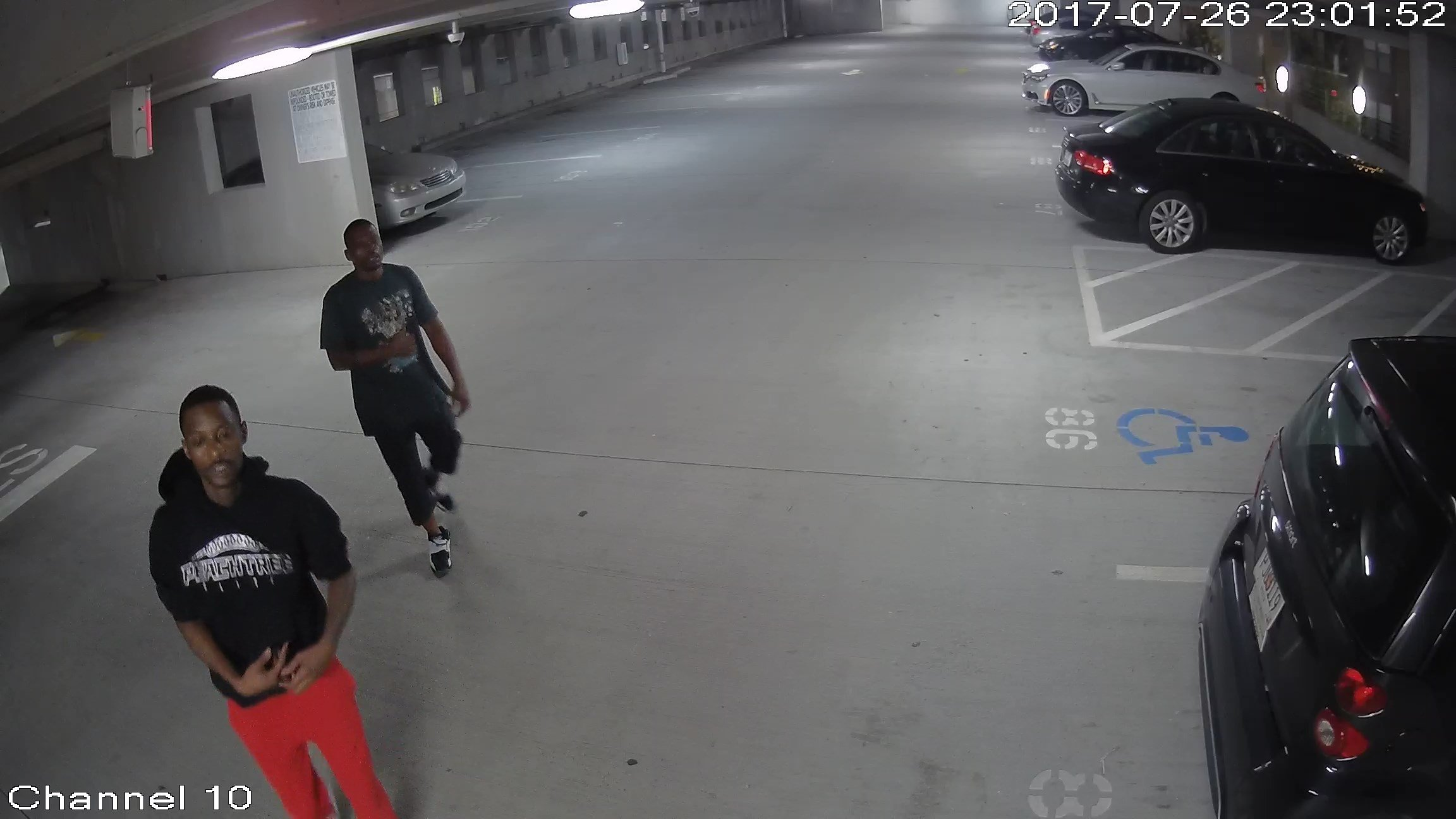 Howell Mill Rd. armed robbery suspects. (Source: APD)
