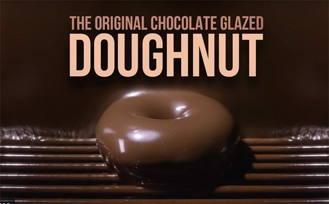 Krispy Kreme is releasing a chocolate glazed doughnut to coincide with the solar eclipse on Aug. 21. (Source: Youtube)