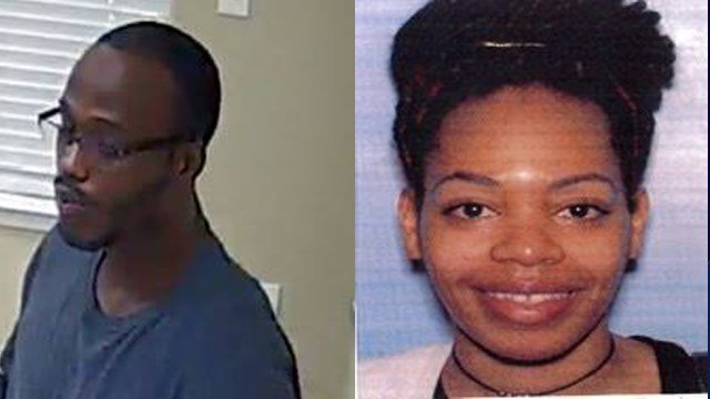 These two people are being considered persons of interest as they may be potential witnesses of the murder of Rodcricous Gates. Source: Clayton County Police