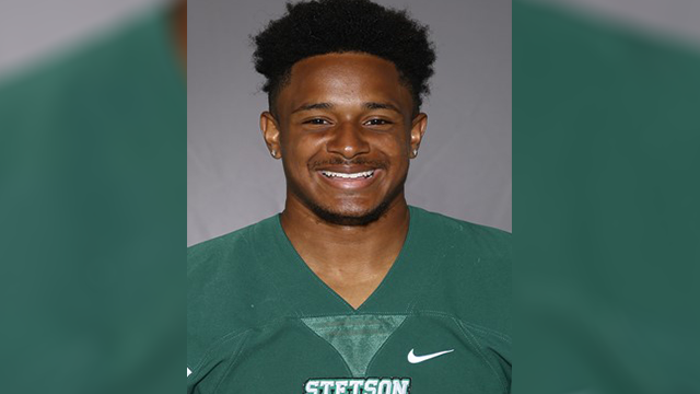 Stetson football player dies after collapsing at practice