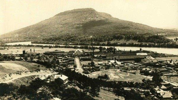 Vintage view of Lookout Mountain