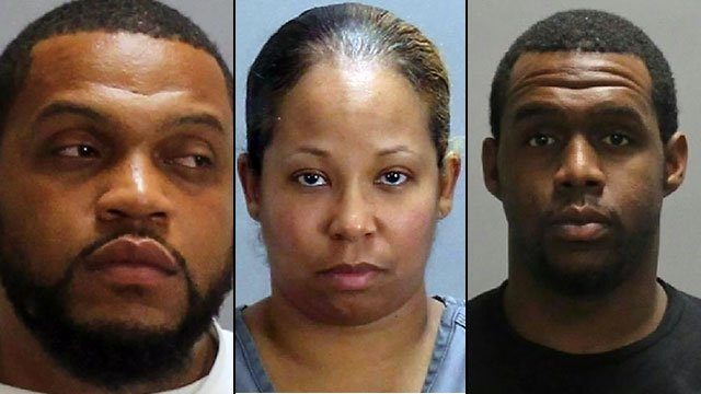 Courtney (left), Cordelia (center) and Kindall Cherry (Source: Clayton County Sheriff's Office)