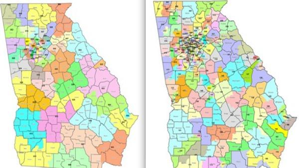 House panel OKs congressional map  CBS46 News