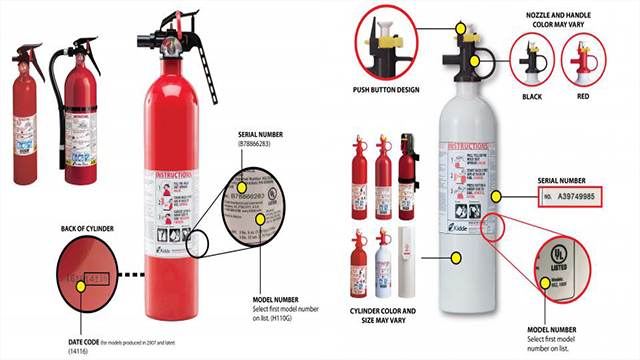 37.8 million fire extinguishers recalled after care fire death