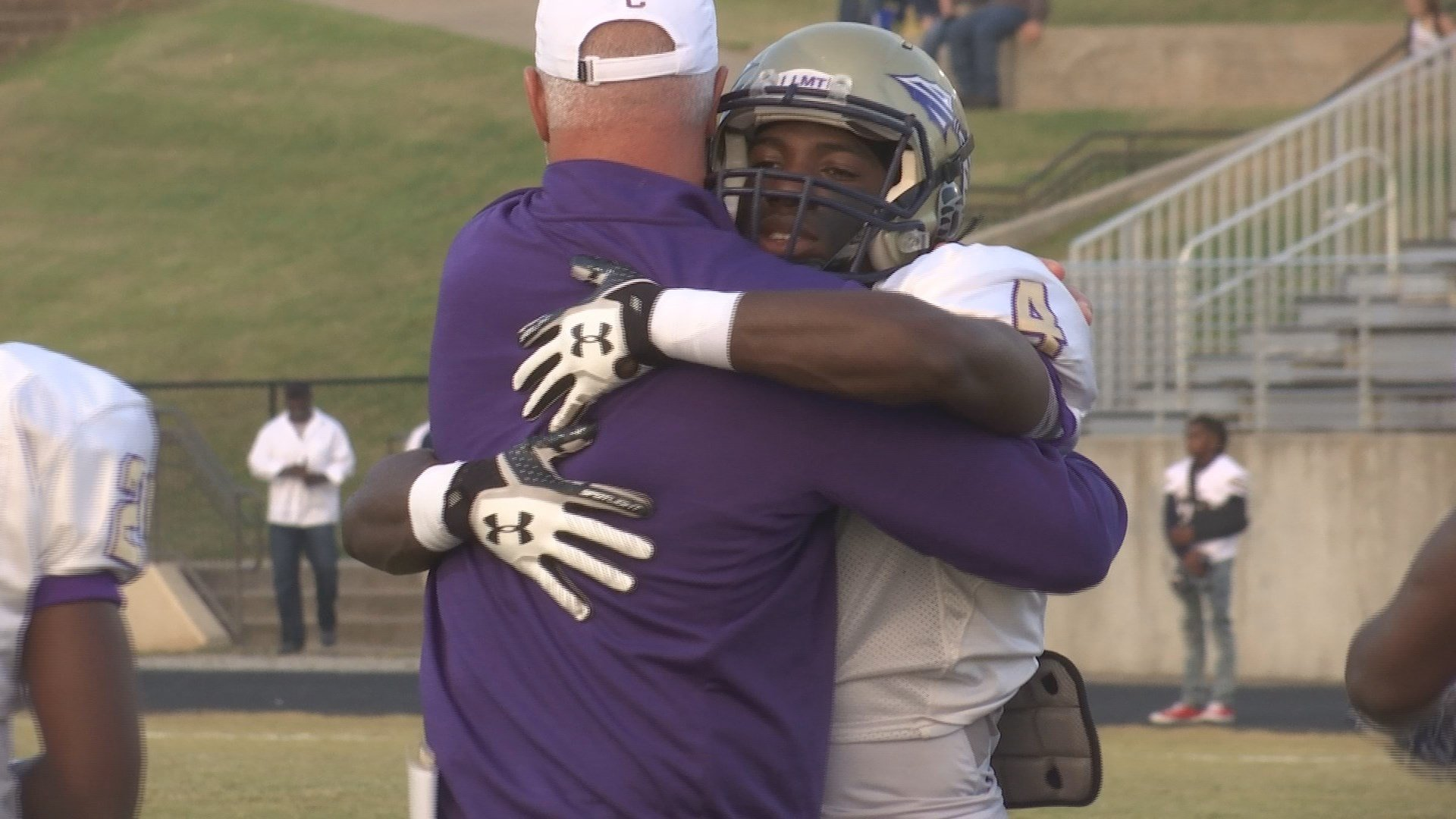 Coach John Small was unable to pray with his team in the game against Newnan (WGCL)