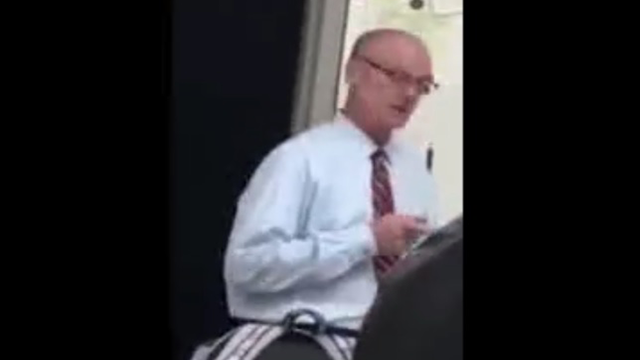 Paul Hagan Atlanta physics teacher threatens student 'with bullet to your head'