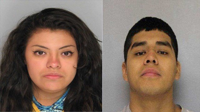 Alondra Rodriguez and Marcos Garcia Tovar (Source: Gaineville Police Department)
