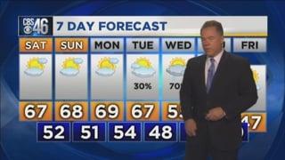 Atlanta Weather Forecast Radar Temperatures For Georgia - 5 day forecast atlanta georgia