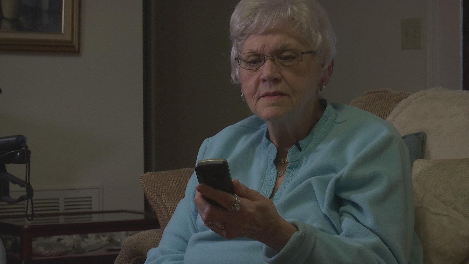 some seniors get cut off from society if anything happens to their landline phone (WGCL)