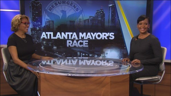 Mayor-elect Keisha Lance Bottoms talks with CBS46 News