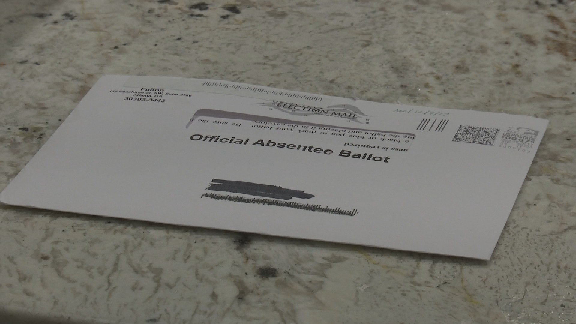 A woman received an absentee ballot to fill out two days after the election was over (WGCL)
