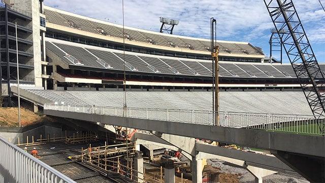 Uga S Sanford Stadium Getting A New Look Wsmv News 4
