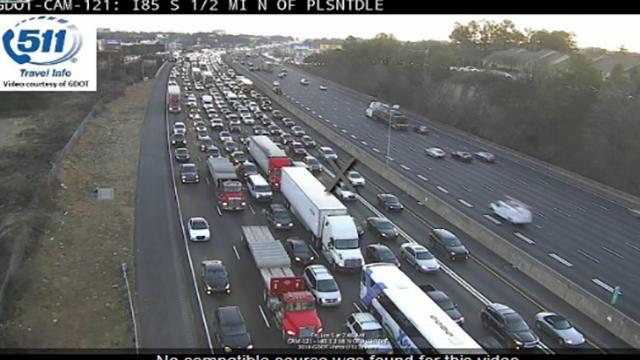 Lanes reopen on I-85 in DeKalb County after fatal crash - Atlanta