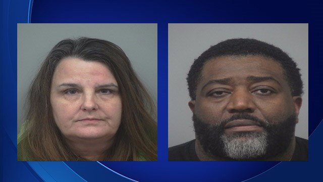 Delilah Marie Smith, 57, and Jerome Walker, 46. (Source: Gwinnett County Fire Services)