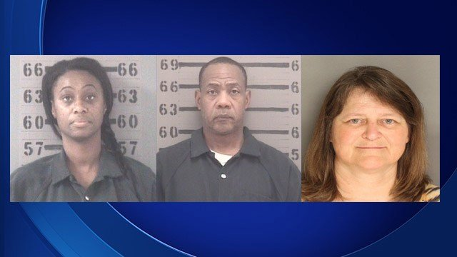 Michelle Oliver, Harold Hunt, Cynthia Riley (Source: Georgia Bureau of Investigation)