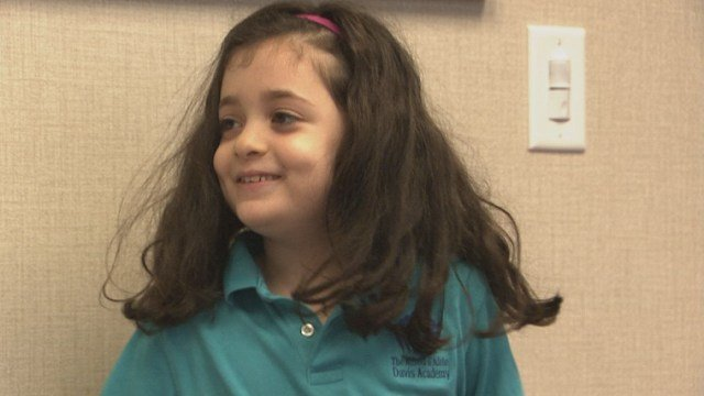 Hannah Garton, 7 (Source: WGCL)