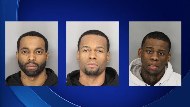 Cory Moody, Eyzaiya Moody, and Walter Kearney Gadson, Jr. are facing a slew of charges in the alleged vehicular dragging of a Cobb County officer. (Source: Cobb County Jail).