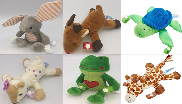 Almost 600000 pacifier, teether holders recalled due to choking hazard