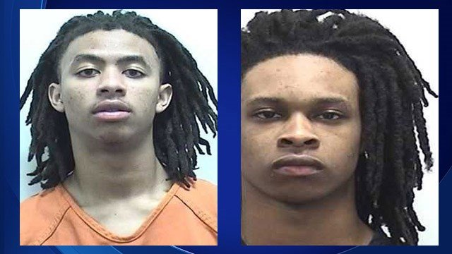 Suspects Mortavious Crew and Damari Jones. (Source: Clarke County Sheriff's Office)