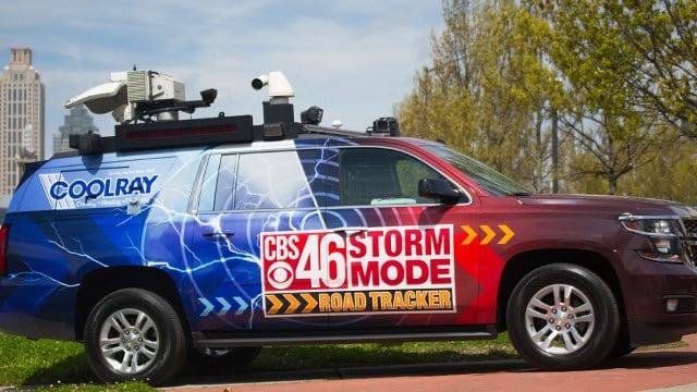 CBS46 Coolray Road Tracker